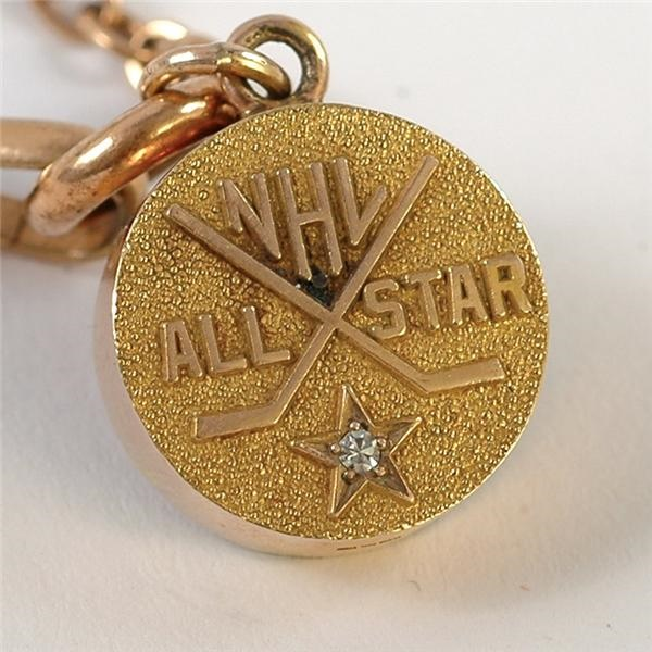 Earl Seibert's NHL All-Star Pendant with Chain