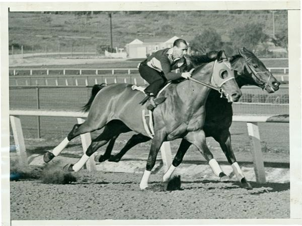 Seabiscuit Gets Ready For $100,000 Handicap (1939)