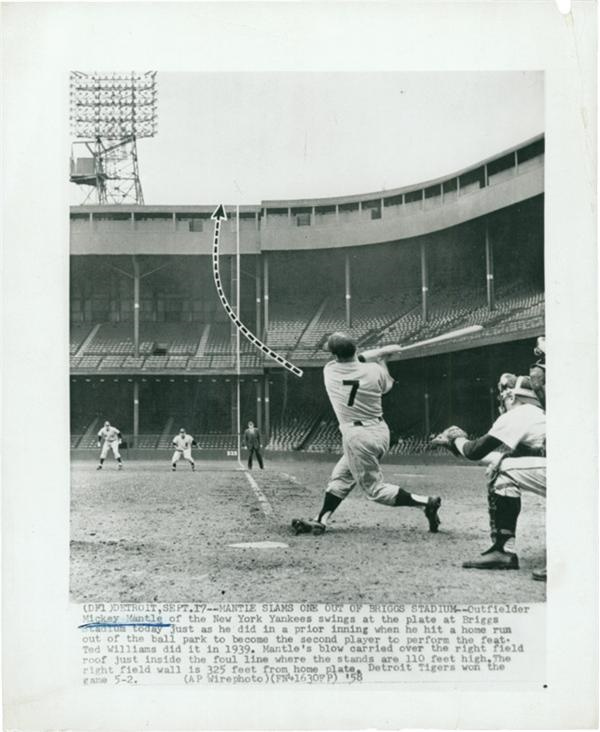 Mantle at Briggs Stadium (1958)