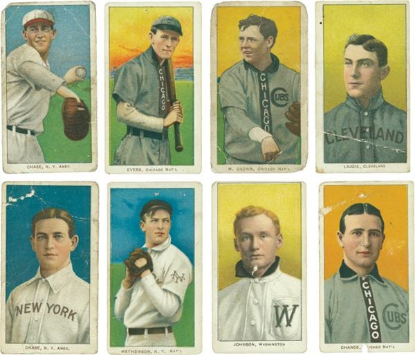 Collection of T206s with Hall of Famers (100)
