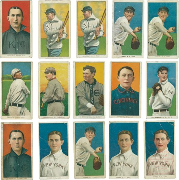 Collection of T206's with Hall of Famers VG (100)
