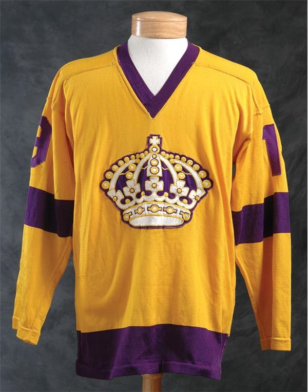 1967-1968 Los Angeles Kings Pre-Season Game Worn Jersey