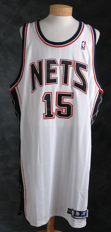2005-06 Vince Carter New Jersey Nets Game Used Jersey