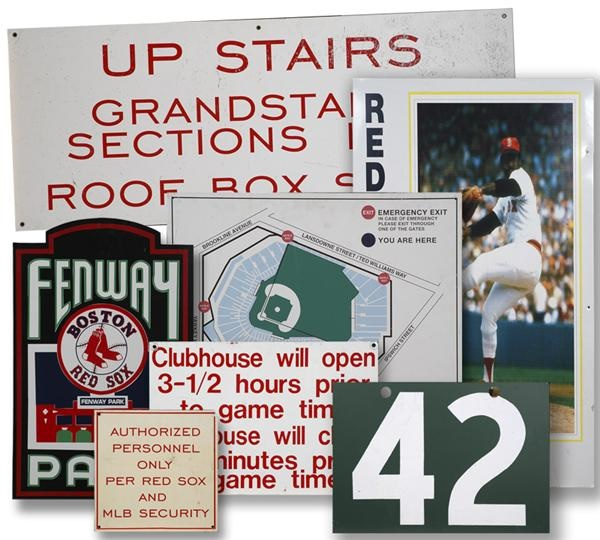 Group of Signage From Fenway Park (7)