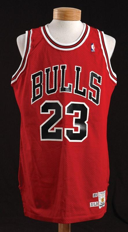huge discount f94ea 0fcfc 1989 Michael Jordan Game Worn Jersey