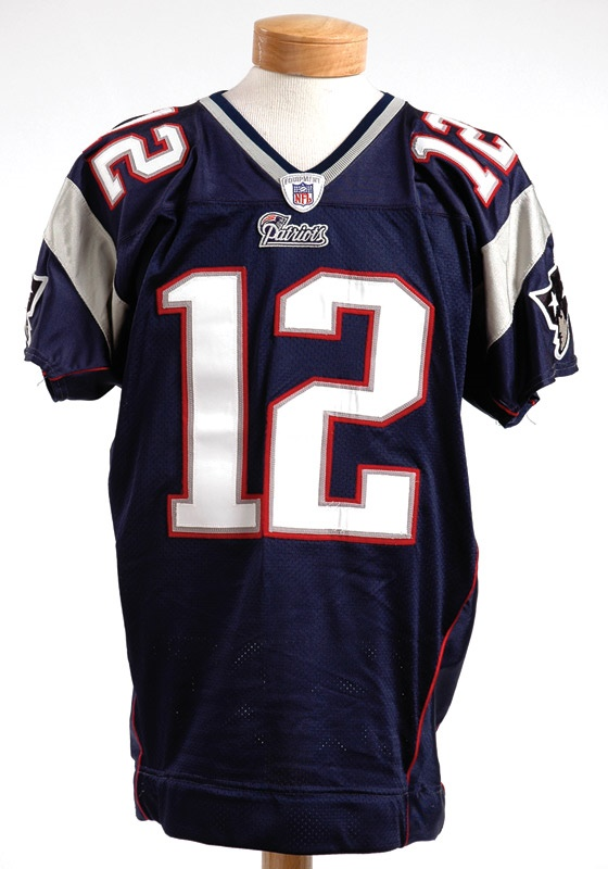 reputable site 50e36 ae5a4 2005 Tom Brady Game Worn New England Patriots Jersey