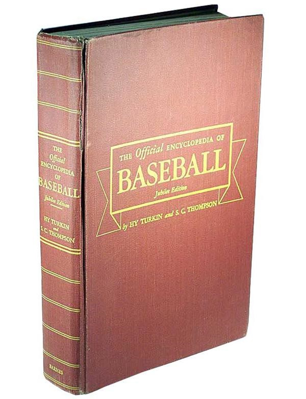 1951 Baseball Encyclopedia Signed By the 1951 Red Sox