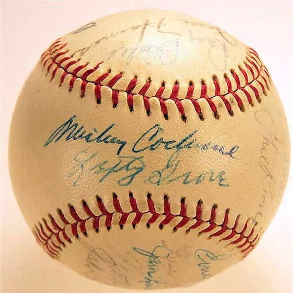 1931 St Louis Cardinals Team Signed Baseball