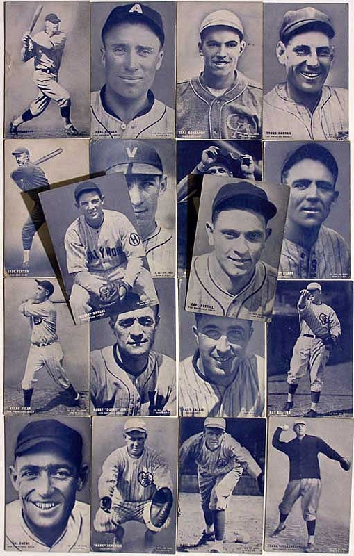 Extremely Rare 1928 Pacific Coast League Card Set 31/32