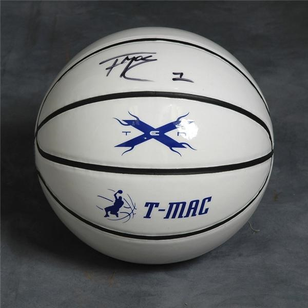 Tracy McGrady Signed Basketball