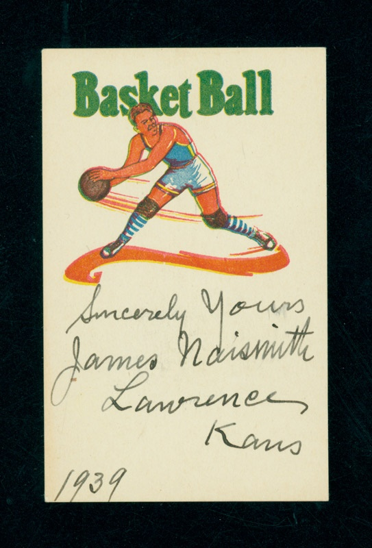 James Naismith Signed