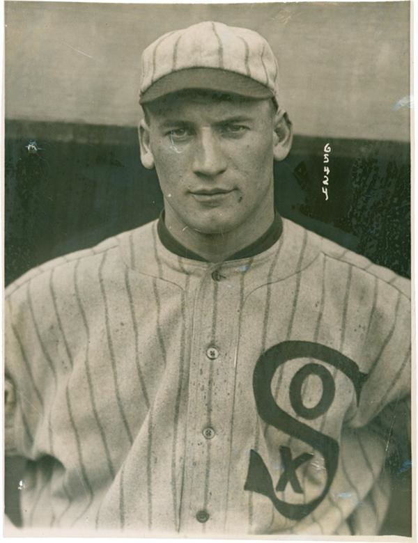 Black Sox Hap Felsch Rookie Photograph