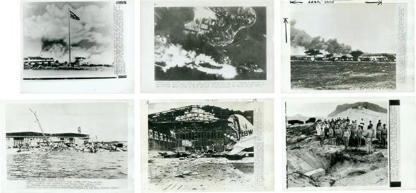 (18) Pearl Harbor Wire Photo Collection