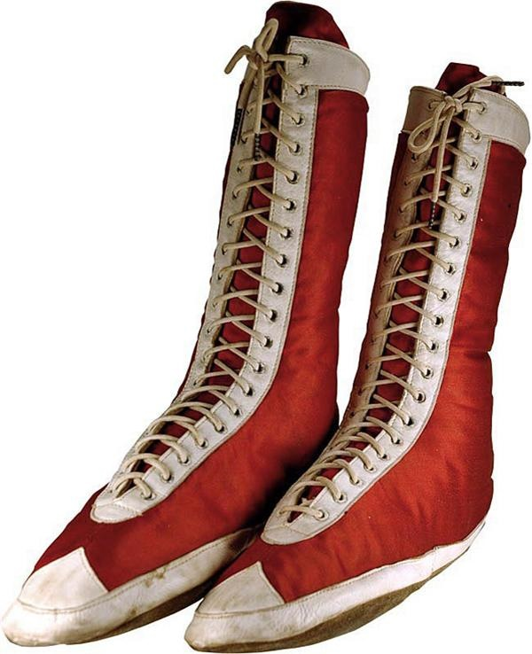 19th Century Boxing Shoes
