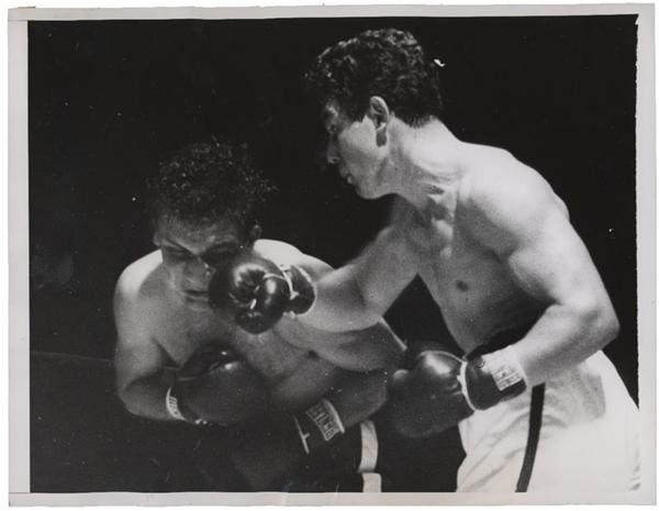 Jake LaMotta Ring Action Photos (10)