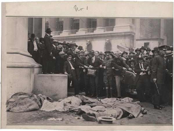 1920 Wall St. Bombing Photos (3)