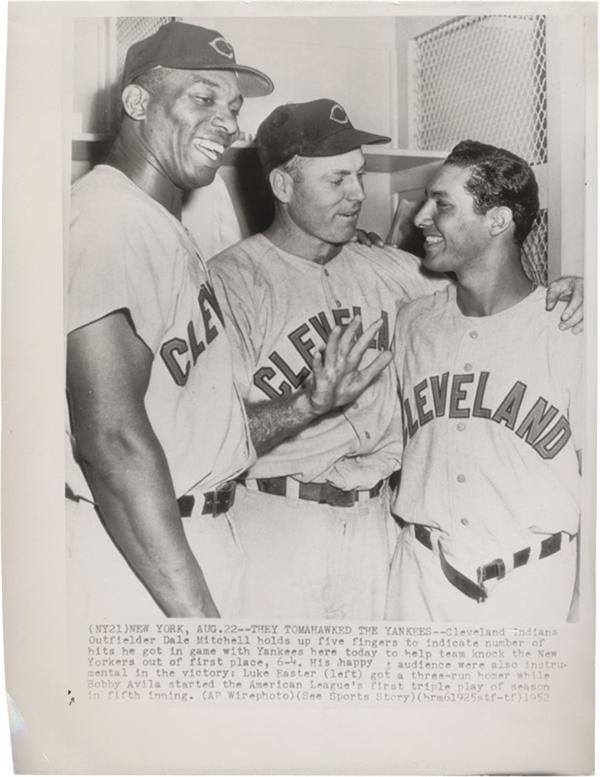 Cleveland Browns Baseball Wire Photo(1952)