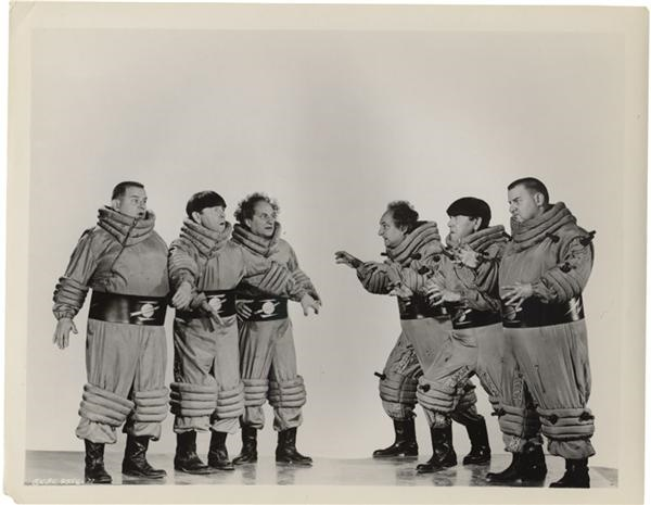 Three Stooges File Photos from Famous Monsters (12)
