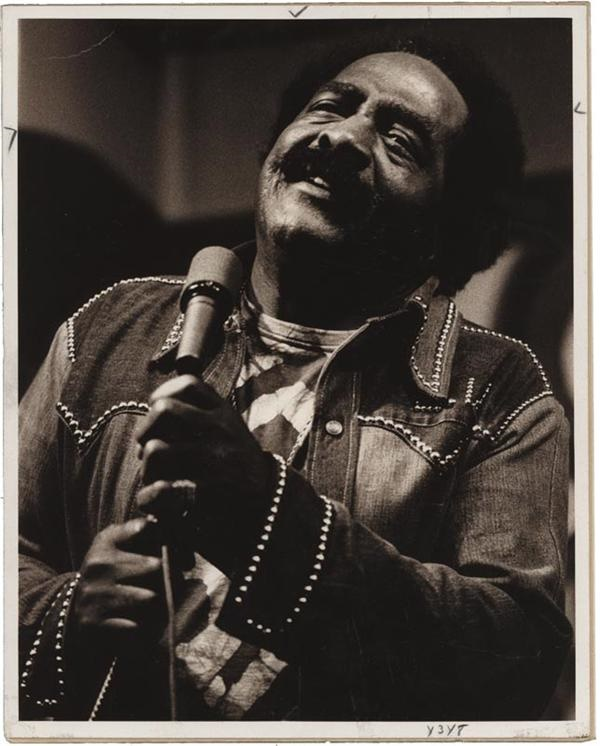 Blues Singer Jimmy Witherspoon Photos (2)