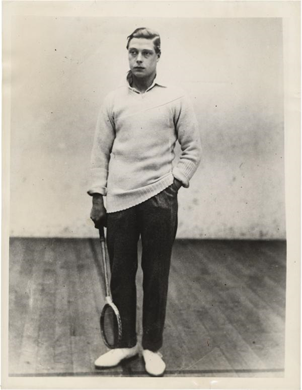 The Prince of Wales Playing Sports (4)