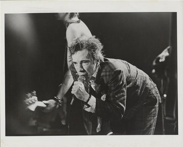 Sex Pistols Musician Johnny Rotten Photo Lot (9)