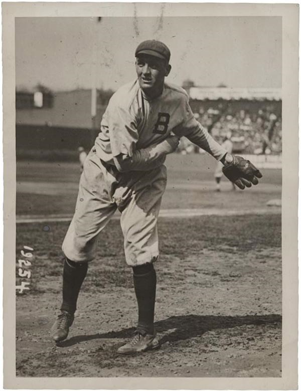Bill James of Boston Baseball Photo (1915)