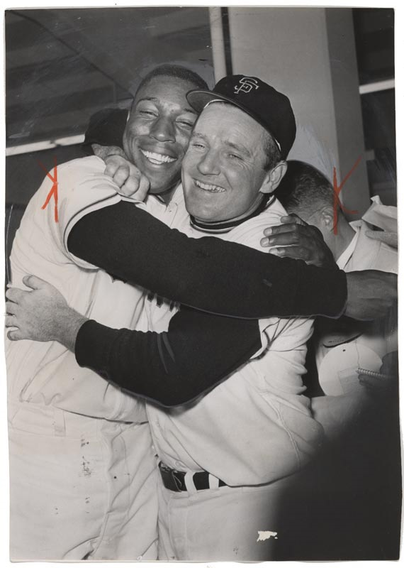 Willie McCovey & Jack Sanford (1962)