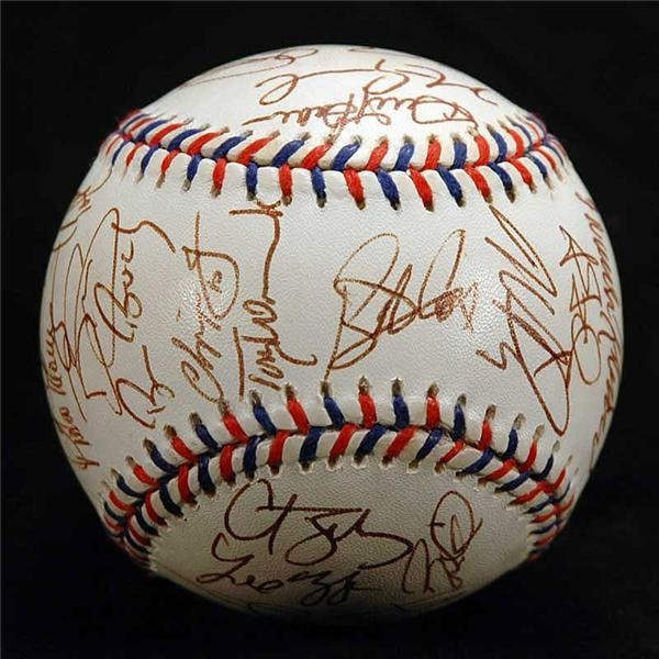 1997 National League All-Star Team Signed Baseball