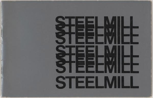 Rare 1970s Bruce Springsteen Steelmill Booklet