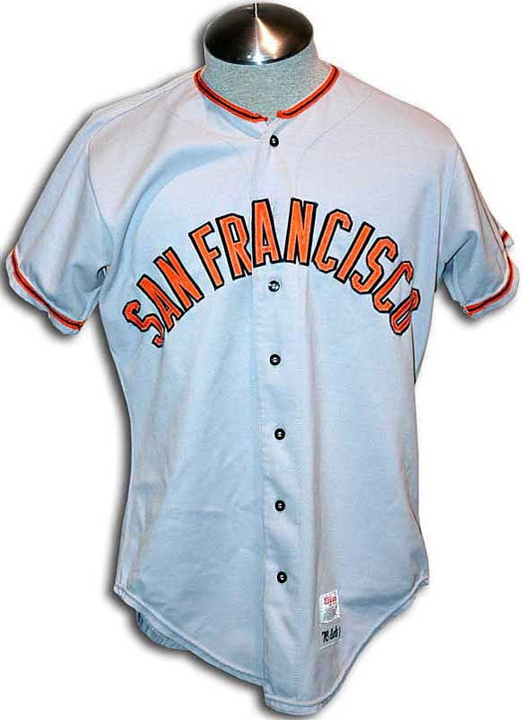 1976 San Francisco Giants Game Used Baseball Jersey