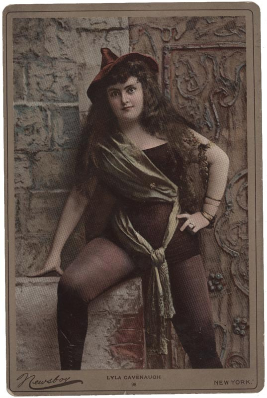 19th Century Actress Large Cabinet Cards by Newsboy (15)
