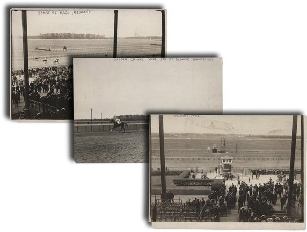 1913 Belmont Park Horseracing Photographs (3)