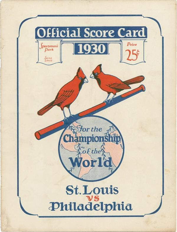 St. Louis Cardinals - auction