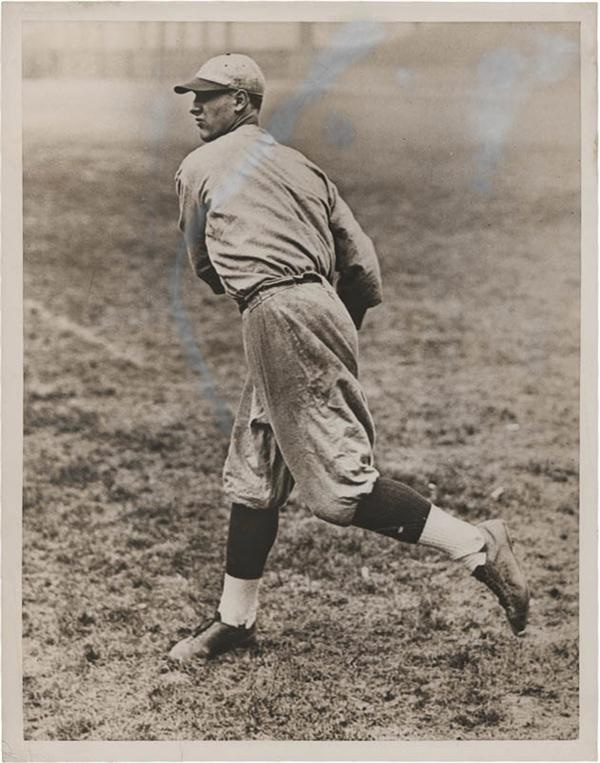 Lou Gehrig Columbia University Photograph (7x9