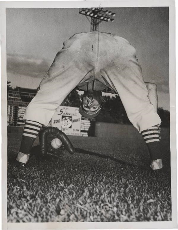 Jackie Price Baseball Clown Wire Photos (6)