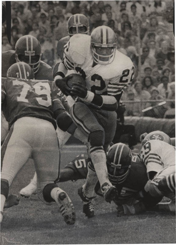 Early 1970s SF 49ers Football Photographs (19)