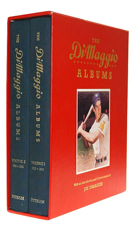Joe DiMaggio Signed Two Book Set