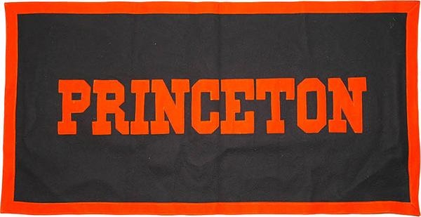 Vintage Princeton University Felt Athletic Banner