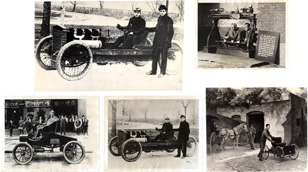 Henry Ford with his Cars and more (13 photos)