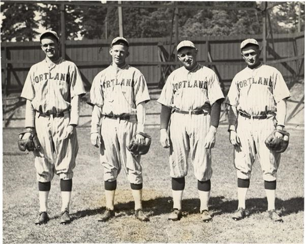 Carl Mays on the Portland Beavers (1930)
