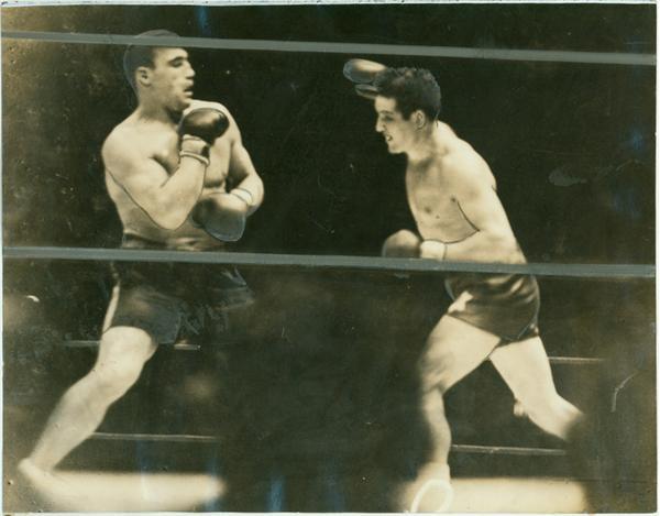 1934 Max Baer v  Primo Carnera (13 photos)
