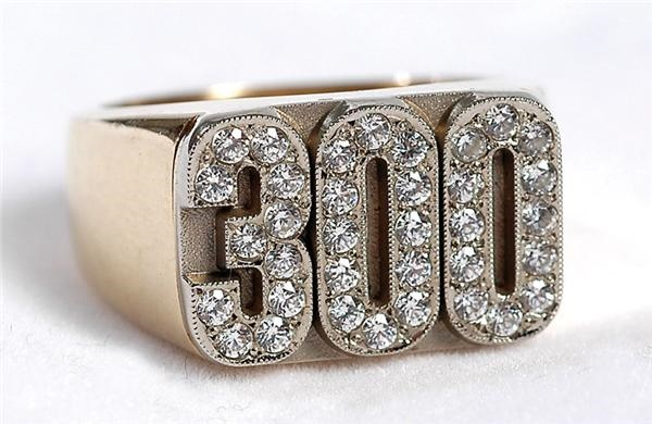 Baseball 300 Win Ring