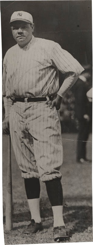 1920's Babe Ruth Photo