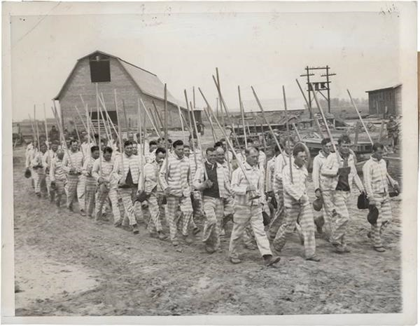 1939 Mississippi State Prison Photo