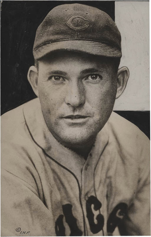 1932 Rogers Hornsby Baseball Photo