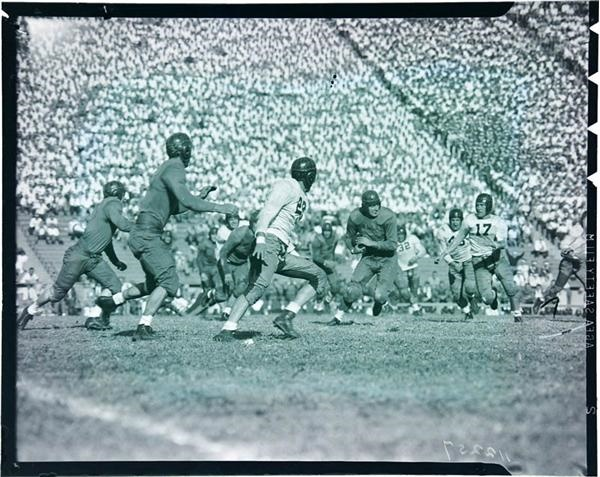 1940 California vs W.S.C College Football Negatives (28)