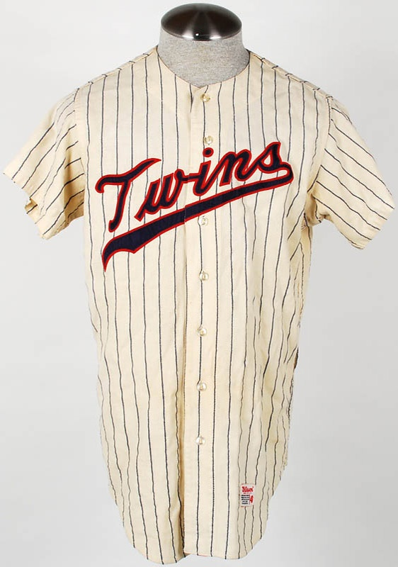 1960s Minnesota Twins Minor League Game Used Jersey
