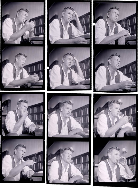 1962 Sterling Hayden Negatives (10)
