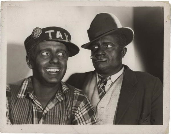 Amos N Andy Hollywood Promotional 8 x 10'' Photograph