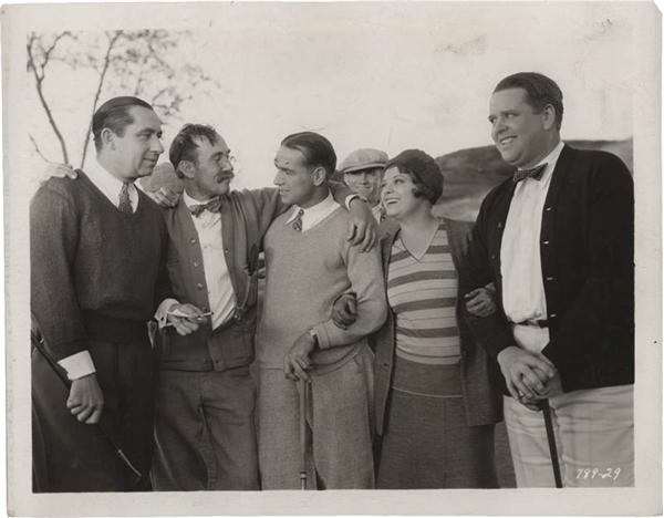 1929 Walter Hagen Golf Movie Publicity Photo